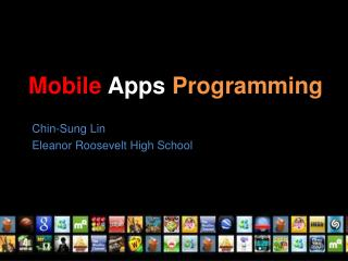 Mobile  Apps  Programming