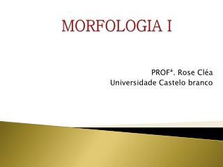 MORFOLOGIA I