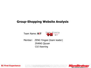 Group-Shopping  Website  Analysis