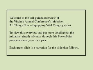 The Virginia Annual Conference of  The United Methodist Church