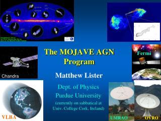 The MOJAVE AGN Program