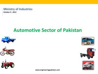 Automotive Sector of Pakistan
