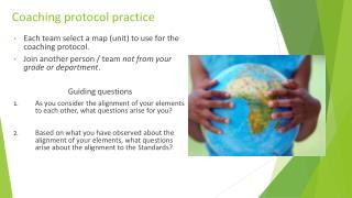 Coaching protocol practice