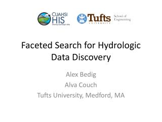 Faceted Search for Hydrologic Data Discovery