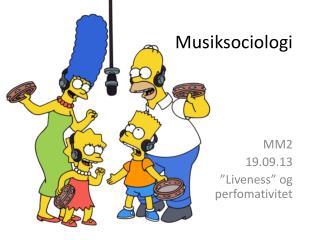 Musiksociologi