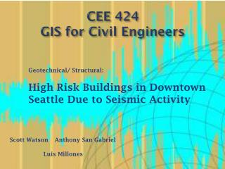 CEE 424 GIS for Civil Engineers
