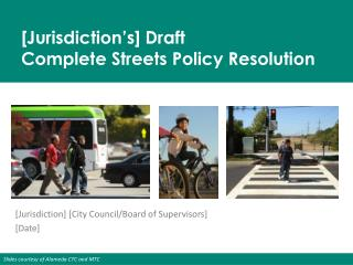[Jurisdiction] [City Council/Board of Supervisors] [Date]