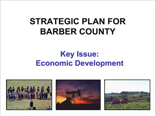 STRATEGIC PLAN FOR BARBER COUNTY