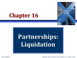 Partnerships:  Liquidation