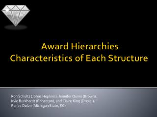 Award Hierarchies Characteristics of Each Structure