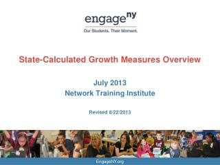 State-Calculated Growth Measures Overview
