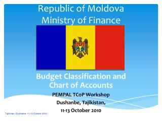 Republic of Moldova  Ministry of Finance