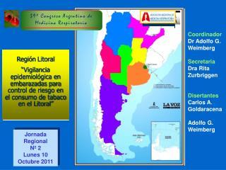Jornada Regional Nº 2 Lunes 10 Octubre 2011