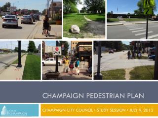 Champaign pedestrian plan
