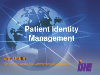 Patient Identity Management
