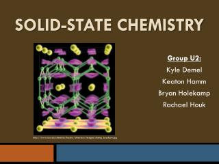 Solid-State Chemistry