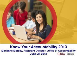 Know Your Accountability 2013