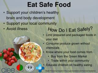 How Do I Eat Safely?
