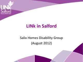 LINk in Salford