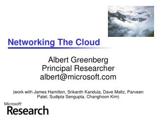 Networking The Cloud