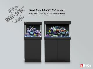 Red Sea  MAX® C-Series Complete Close Top Coral Reef Systems