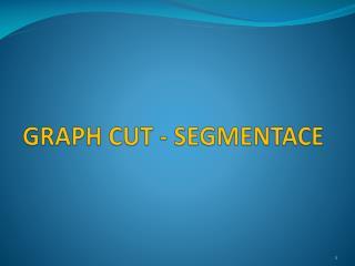 GRAPH CUT - SEGMENTACE
