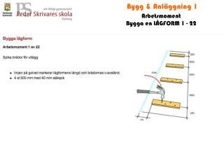 Bygg & Anläggning 1