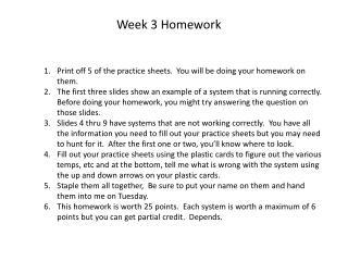 Week 3 Homework