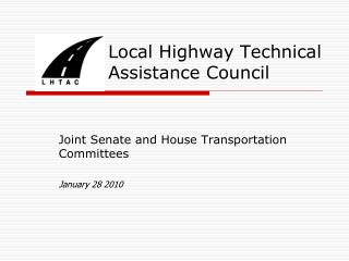 Local Highway Technical Assistance Council