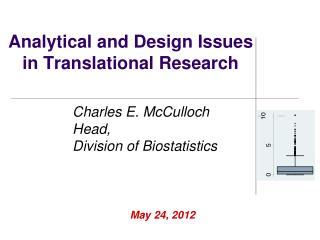 Analytical and Design Issues in Translational Research