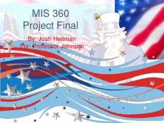 MIS 360 Project Final