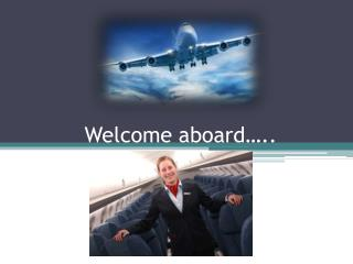 Welcome aboard…..
