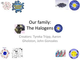 Our family:  The Halogens