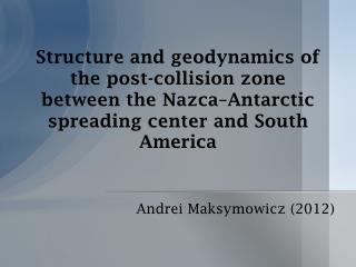 Andrei Maksymowicz  (2012)