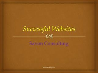 Successful Websites