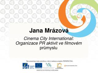 Jana Mrázová