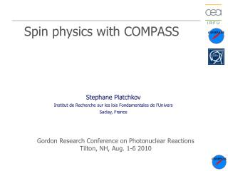 Spin physics with COMPASS