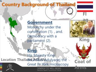 Location Thailand ASEAN