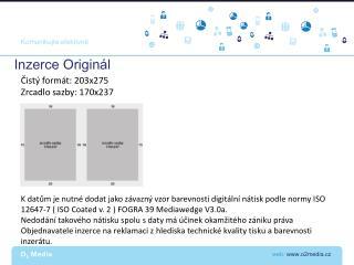 web:  www.o2media.cz