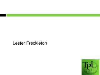 Lester Freckleton