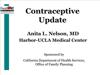 Contraceptive Update