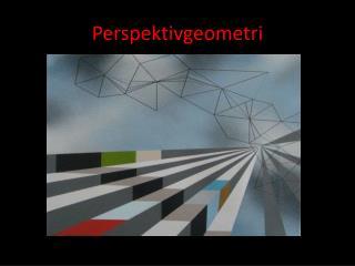 Perspektivgeometri