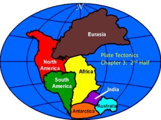 Plate Tectonics Chapter 3:  2 nd  Half