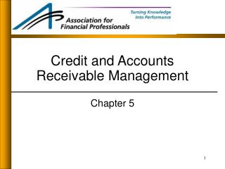 Credit and Accounts Receivable Management