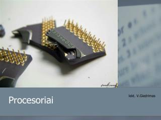 Procesoriai