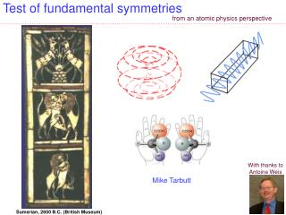 Test of fundamental  symmetries