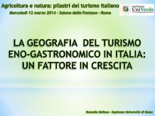 Agricoltura e natura: pilastri del turismo italiano