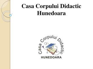 Casa  Corpului  Didactic  Hunedoara