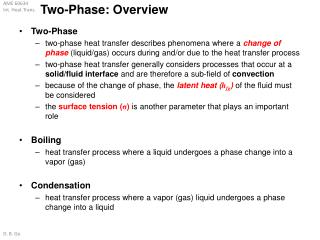 Two-Phase: Overview