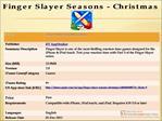 Finger Slayer Seasons - Christmas